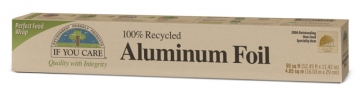 aluminum foil, 100% recycled (50 sq ft.)-1