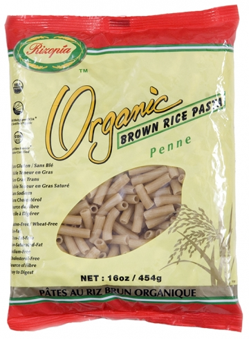Penne: brown rice-1