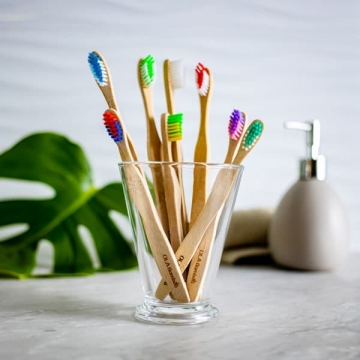 Kids bamboo toothbrushes-2