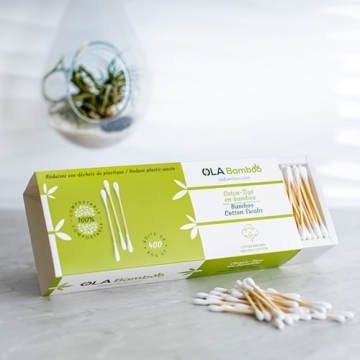 Bamboo cotton swabs-1