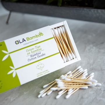 Bamboo cotton swabs-2