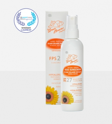 Kids natural mineral sunscreen spray SPF 27-1