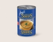 soup, no chicken noodle (can)